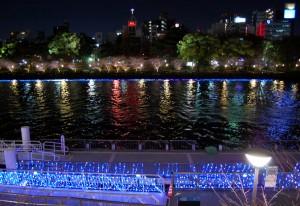 大阪会場夜景